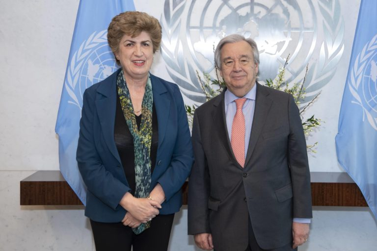 Meeting with UNSG Guterres
